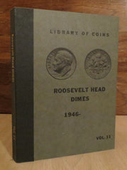 Library of Coins Vol.11 - ROOSEVELT HEAD DIMES 1946-