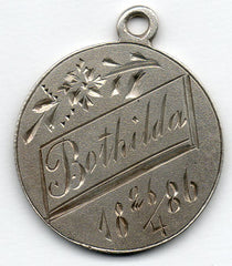 Love Token - BOTHILDA 4/26/1886 (Sweden)
