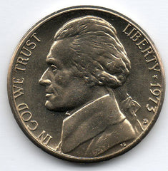 1973-D Jefferson Nickel