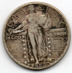 1926-P Standing Liberty Quarter (90.0% Silver)