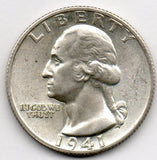 1941-S Washington Quarter (90.0% Silver)