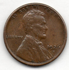 1926-S Lincoln Cent (Wheat Penny)