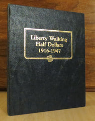 Whitman Classic #9125 - Liberty Walking Half Dolalrs 1916-1947