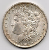 1884-O Morgan Dollar (90.0% Silver)