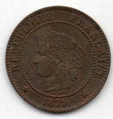 France 2 Centimes 1886 A