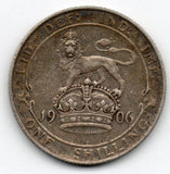 Great Britain 1 Shilling 1906 (92.5% Silver)