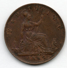 Great Britain 1 Farthing 1885