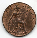 Great Britain 1 Farthing 1904