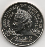 Great Britain 5 Pounds 2000 - Queen Mother