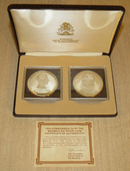 Bahamas 1978 Two Coin Proof Set (50.0% Silver)