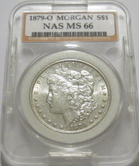 1879-O Morgan Dollar (90.0% Silver)