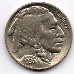1936-D Buffalo Nickel
