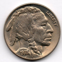 1938-D/S Buffalo Nickel