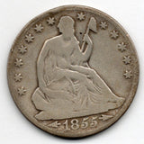 1855-O Seated Liberty Half Dollar