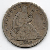 1856-O Seated Liberty Half Dollar