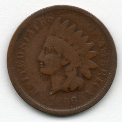 1866 Indian Head Cent (Indian Head Penny)