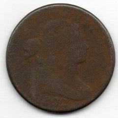 1802 Large Cent (Draped Bust Penny)