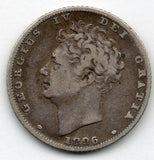 Great Britain 1 Shilling 1826 (92.5% Silver)