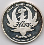 Hank Williams Jr. - 1 oz (99.9% Silver)