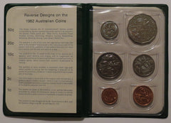 Australia 6 Coin Set - XII Commonwealth Games Brisbane 1982