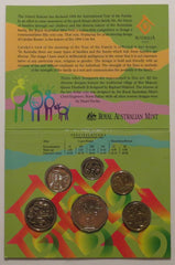 Australia 6 Coin Mint Set - United Nations Year of the Family 1994