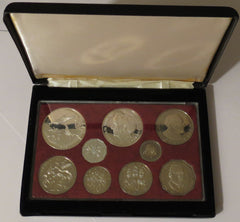 Jamaica 9 Coin Proof Set 1980