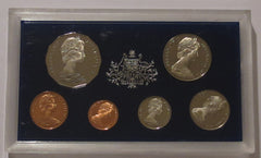 Australia 6 Coin Proof Set 1970 - Captain Cook