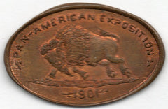 Pan-Am Expo Elongated Cent 1901 (Indian Cent)