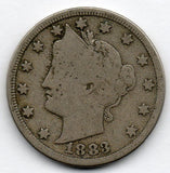 1883 Liberty Head Nickel (with Cents) (V Nickel)