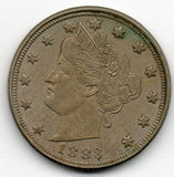 1883 Liberty Head Nickel (no Cents) (V Nickel)
