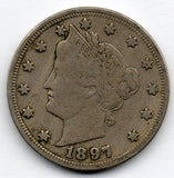 1897 Liberty Head Nickel (V Nickel)