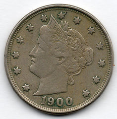 1900 Liberty Head Nickel (V Nickel)