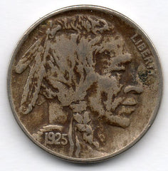 1925-P Buffalo Nickel