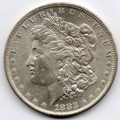 1883-O Morgan Dollar (90.0% Silver)