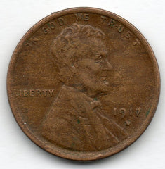 1917-D Lincoln Cent (Lincoln Penny)
