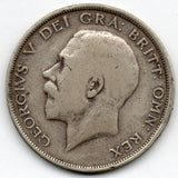 Great Britain 1/2 Crown 1914 (Half Crown) (92.5% Silver)