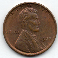 1927-P Lincoln Cent (Wheat Penny)