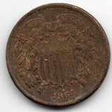 1864 Two Cent