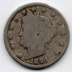 1894 Liberty Head Nickel (V Nickel)