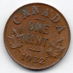 Canada Small Cent 1932 (Penny)