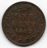 Canada Large Cent 1887 (Penny)