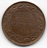 Canada Large Cent 1914 (Penny)