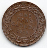 Canada Large Cent 1918 (Penny)