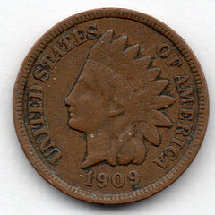 1909-P Indian Head Cent (Indian Head Penny)