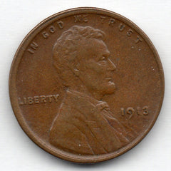 1913-P Lincoln Cent (Wheat Penny)