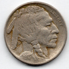 1913-P Buffalo Nickel - Type 1 (V Nickel)