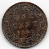 Canada Large Cent 1902 (Penny)