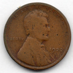 1922-D Lincoln Cent (Wheat Penny)