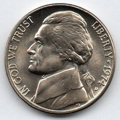 1974-D Jefferson Nickel