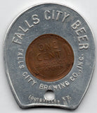 Falls City Beer 1945 Encased Cent